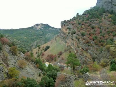 Cazorla - Río Borosa - Guadalquivir; viajes a la sierra montañas alicantinas valle de aran mapa